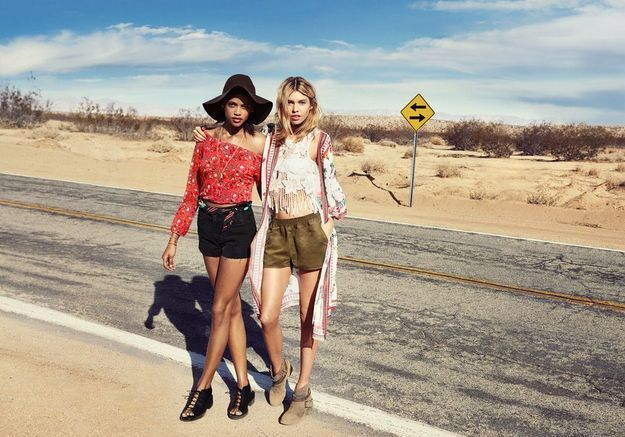 H&M Loves Coachella looks 1 et 2