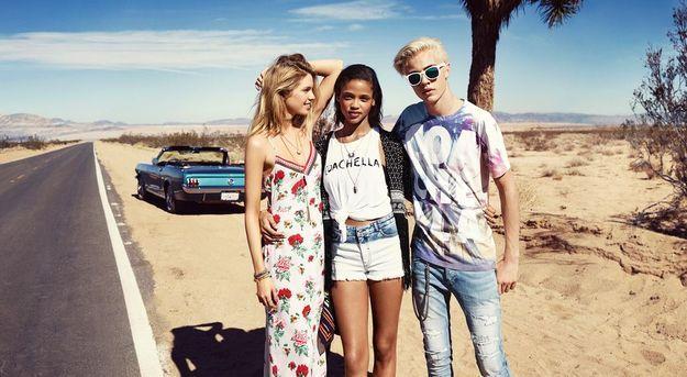 H&M Loves Coachella looks