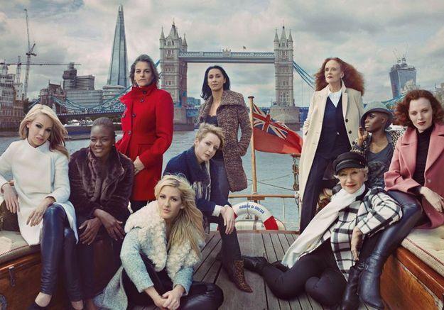 Marks & Spencer : Grace Coddington égérie de la nouvelle campagne
