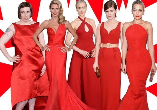 Robe soiree tapis rouge