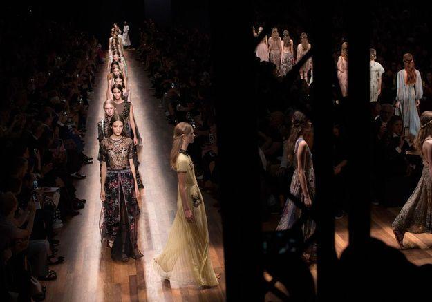 Valentino : revivez leur premier défilé couture à New York