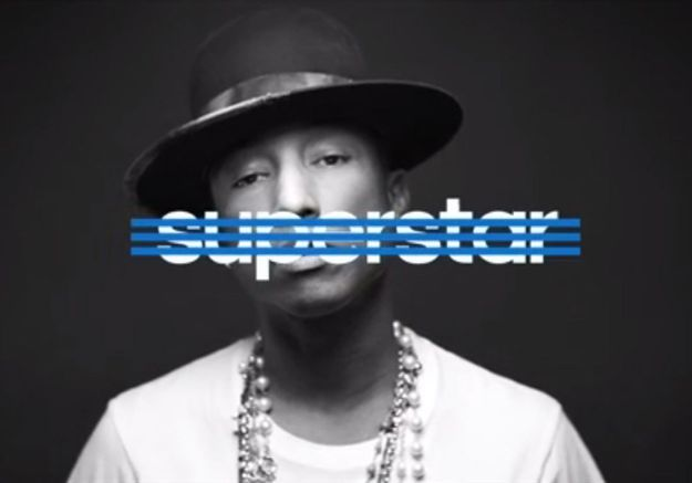 "Vidéo : Pharrell Williams, Rita Ora et David Beckham ""Superstar"" pour Adidas"