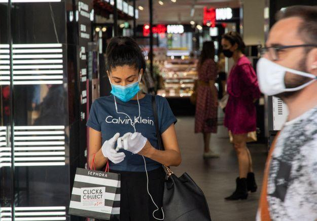 Déconfinement : les boutiques de mode enregistrent une baisse de fréquentation de 59,8%