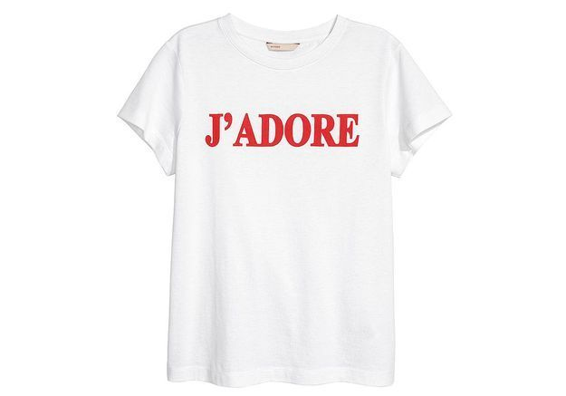 #ELLEFashionCrush : le t-shirt H&M qui va nous faire aimer la rentrée
