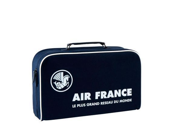 #ELLEfashioncrush : les valisettes vintage d'Air France