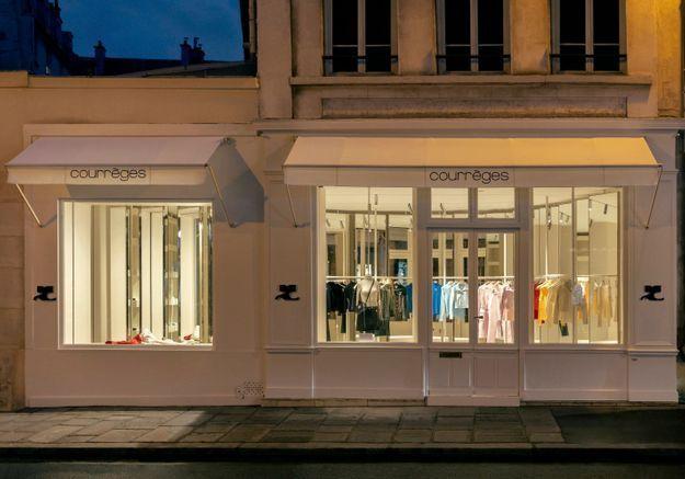 #ELLEFashionSpot : la nouvelle boutique Courrèges au coeur du Marais