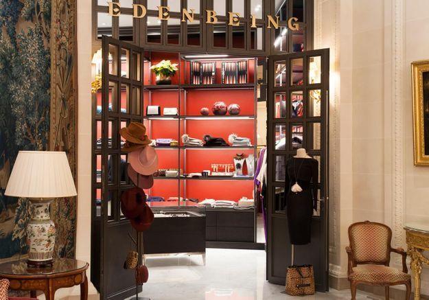 #ELLEFashionSpot : la nouvelle boutique Eden Being du Bristol Paris