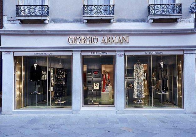 #ELLEFashionSpot : la nouvelle boutique vénitienne d'Armani