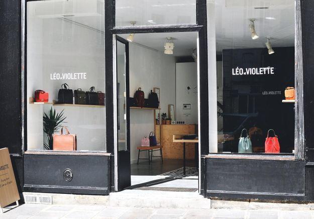 #ELLEFashionSpot : Léo et Violette s'installe dans le Marais
