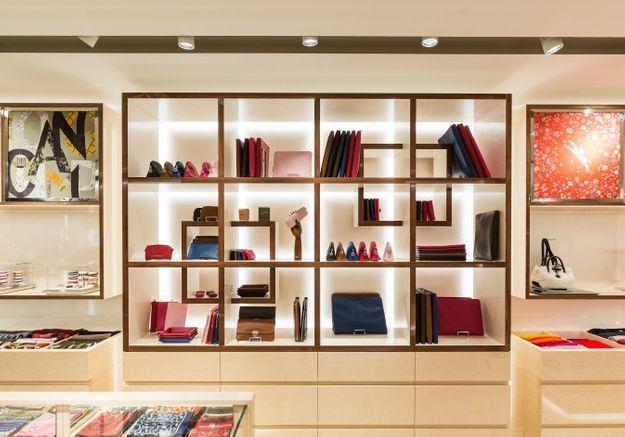 #ELLEFashionSpot : Longchamp rouvre sa boutique de la rue Saint-Honoré
