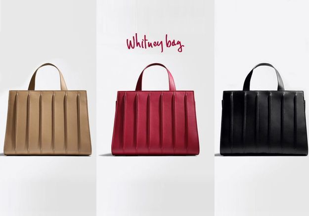 Elles portent toutes le sac Whitney de Max Mara