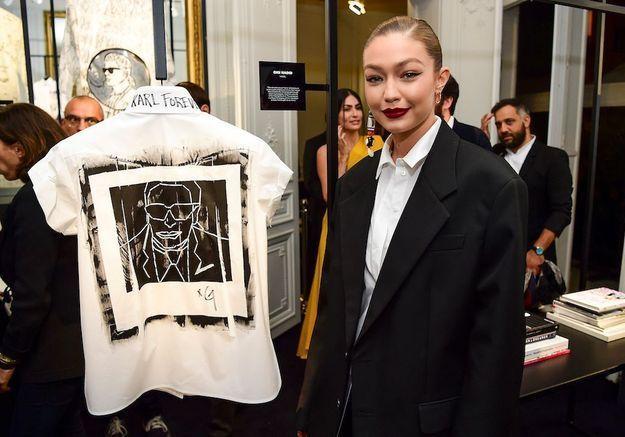 """#ELLEyétait… à la soirée hommage pour Karl Lagerfeld : """"The White Shirt Project"""""""