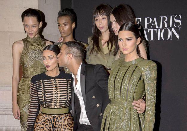 Fashion Week : Olivier Rousteing explique sa fascination pour Kim Kardashian