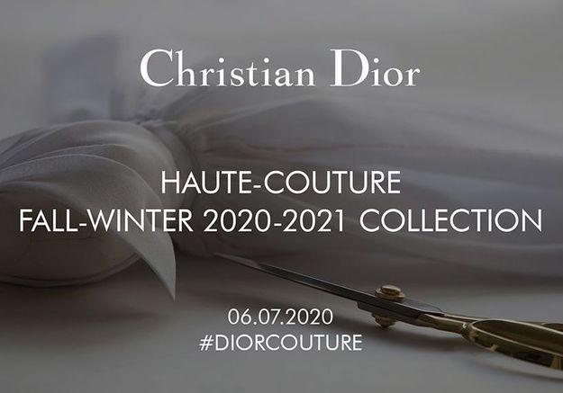 Fashion Week : suivez en direct le défilé Dior A/H 2020-2021