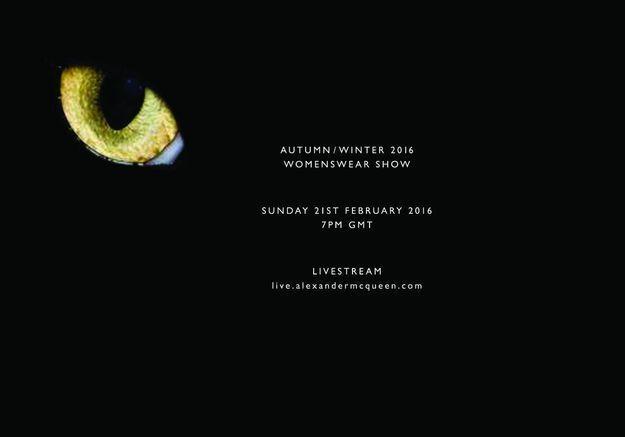 Fashion Week : Suivez le défilé Alexander McQueen en direct à 20h