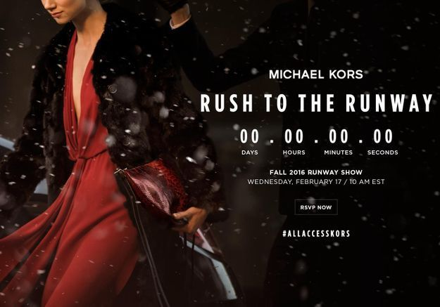 Fashion Week: suivez le show Michael Kors Collection en direct à 16h