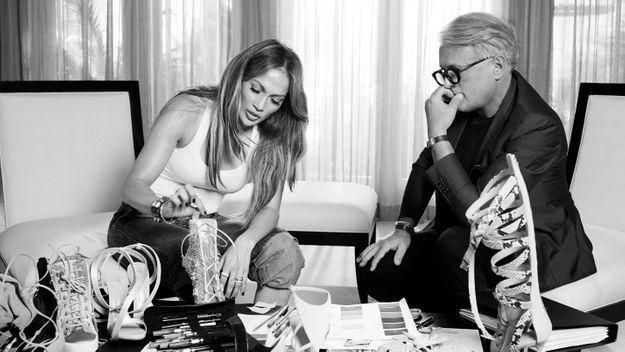 Jennifer Lopez et Giuseppe Zanotti