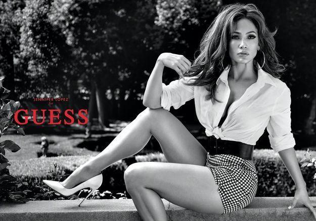 Jennifer Lopez, Guess Girl fatale pour la saison printemps-été 2018