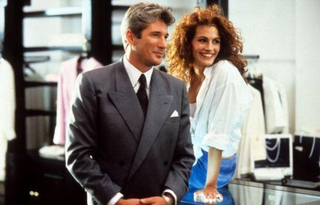 Julia Roberts et Richard Gere dans Pretty Woman, en 1990