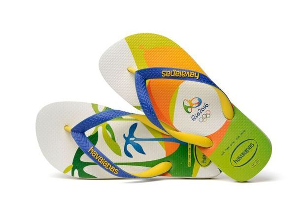 Tongs Havainas Top Rio 2016 Imprimé 1