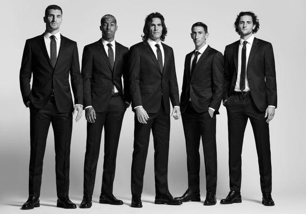 L'instant mode : Hugo Boss habille les joueurs du PSG