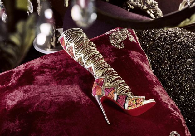 L'instant mode : La collection bombaysque de Louboutin x Sabysachi