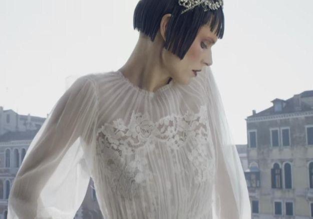 L'instant mode : la délicatesse vénitienne d'Alberta Ferretti