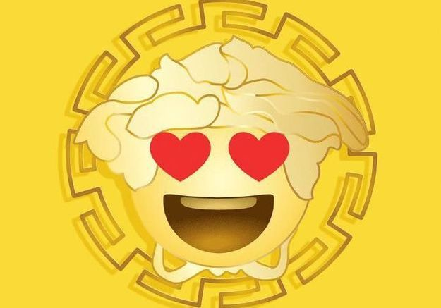 L'instant mode : les emojis médusés de Versace
