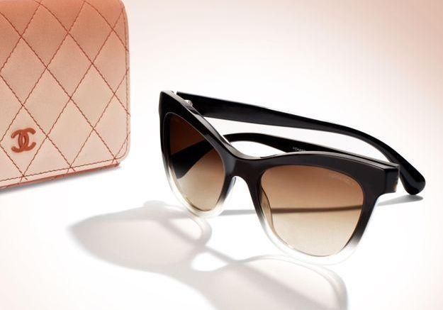 L Instant Mode Les Lunettes Plein Soleil De Chanel Elle