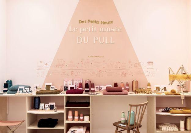 L'instant mode : on fait un tour au petit musée du pull Des Petits Hauts