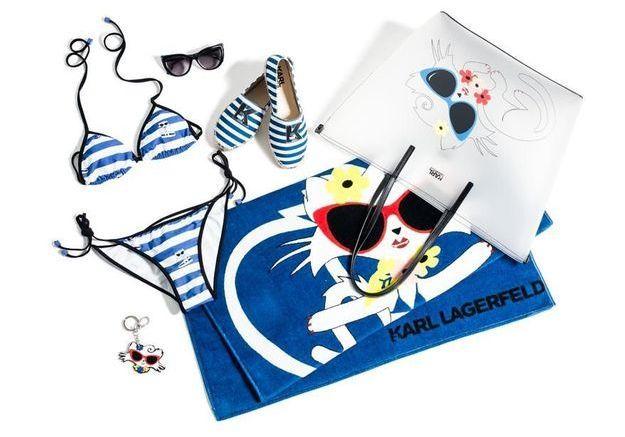 L'instant mode : quand Karl Lagerfeld envoie Choupette à la plage