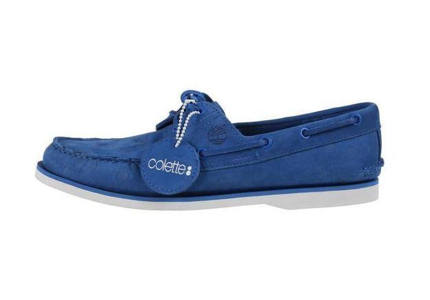 L'instant mode : Timberland revisite les chaussures bateau pour Colette