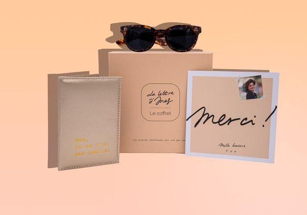 La lettre d'Ines le coffret : découvrez la box de juillet