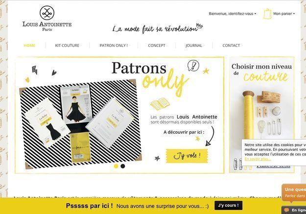 La pépite du web : Louis Antoinette, les patrons de couture enfin adaptés à notre niveau