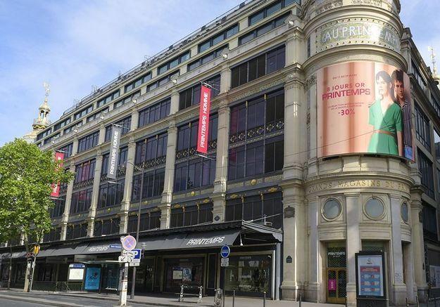 Le groupe Printemps ferme sept grands magasins en France