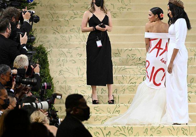 Le vêtement-manifeste n'en est pas à son coup d'essai