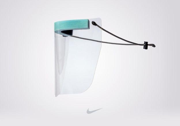 Nike crée des visières de protection pour les soignants à partir de baskets