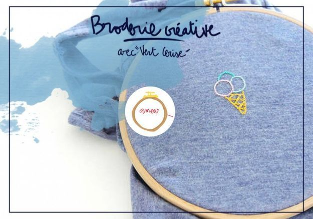 « Broderie créative » : personnalisez votre t-shirt préféré