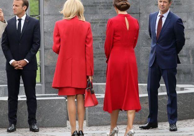 Brigitte Macron et la princesse Mary, tenues coordonnées