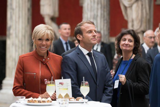 Réception officielle pour le couple présidentiel