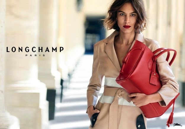 PrêtàLiker   découvrez la campagne printemps-été 2016 de Longchamp avec  Alexa Chung 2aaa060176d