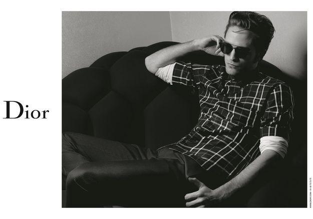 #PrêtàLiker : Robert Pattinson, photographié par Karl Lagerfeld pour Dior Homme