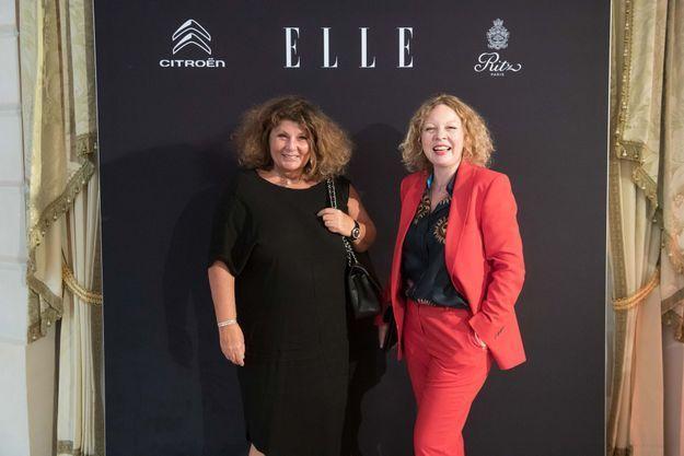 Patricia Schiffbauer (Chanel) et Odile Idkowiak (Paul Smith)