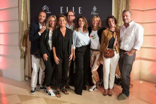 Edouard Renevier (Sarah Lavoine), Marie Poniatowski (Stone), Constance Benqué (ELLE), Vincent Debiard (Stone), Mlle Agnès, Sarah Poniatowski-Lavoi...