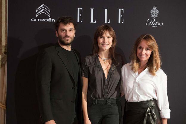 Pio Marmaï, Ana Girardot et Erin Doherty (ELLE)