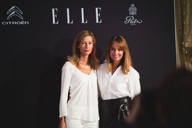 Anne Gravoin et Erin Doherty (ELLE)