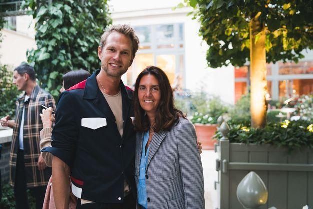 Julien Soyez (Marc Jacobs) et Aude Mesrié (Louis Vuitton)