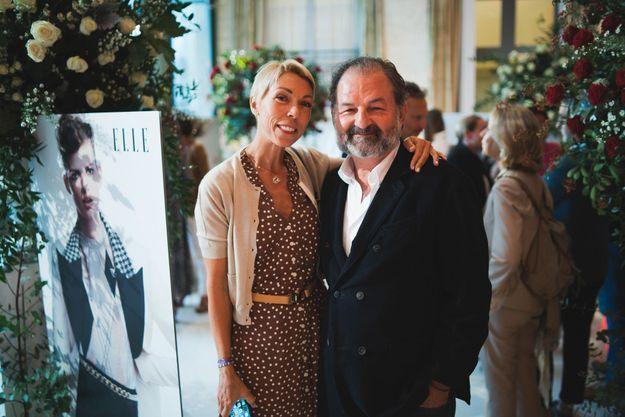 Mathilde Favier (Dior) et Denis Olivennes