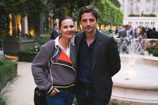 Virginie Ledoyen et Raphaël Personnaz