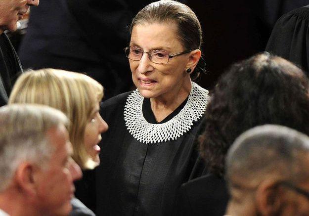 Ruth Bader Ginsburg, une dame de fer dans un col de dentelle